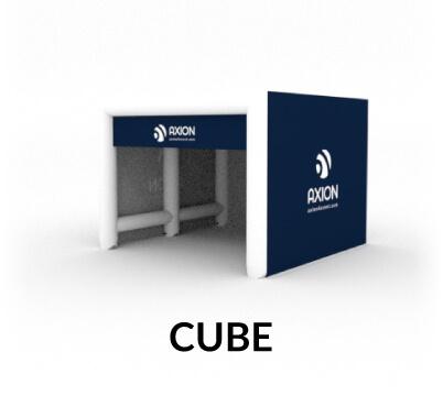 Cort gonflabil patrat Cube